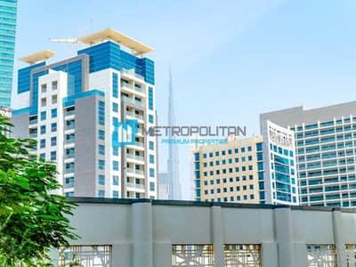 فلیٹ 1 غرفة نوم للبيع في الخليج التجاري، دبي - Burj View   Fully Furnished   Pristine and Opulent
