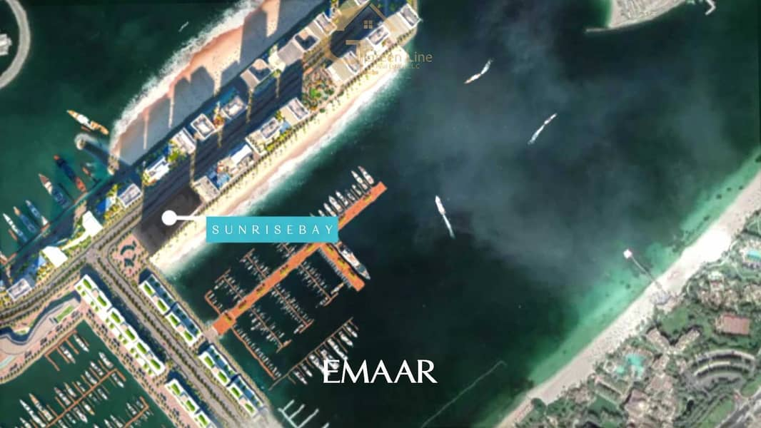2 Last 3BR Unit in Sunrise Bay Directly from EMAAR