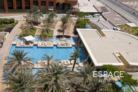 فلیٹ 2 غرفة نوم للايجار في نخلة جميرا، دبي - 2 Bedrooms   Unfurnished    Big Balcony