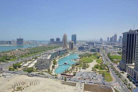 فلیٹ 3 غرف نوم للايجار في دبي مارينا، دبي - 23 Marina | High Floor | Full Sea View