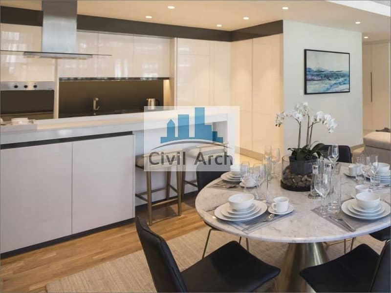 2 FULLY FURNISHED LUXURY 3BR+MAIDS+STUNNING VIEW WITH SEA