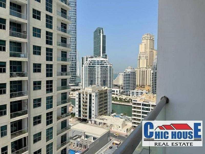 DEC Tower 2 | 1 Br| 2 Bathroom | Dubai Marina View