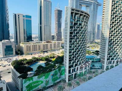 Studio for Sale in Downtown Dubai, Dubai - HOT DEAL   SEMI FURNISHED   VACANT   SHEIKH ZAYED RD VIEW