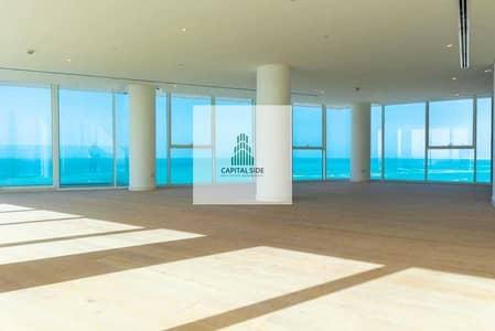 شقة 4 غرف نوم للايجار في جزيرة السعديات، أبوظبي - Gorgeous Full Sea View for Rent in Mamsha Al Saadiyat