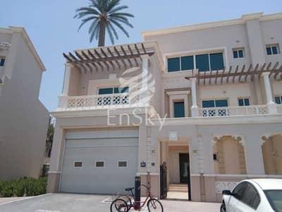 فيلا تجارية 5 غرف نوم للايجار في مارينا، أبوظبي - Commercial Villa for Office Use with a Sea View !