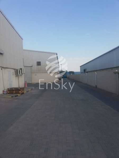 AC Control Warehouse In Mussafah Available For Rent