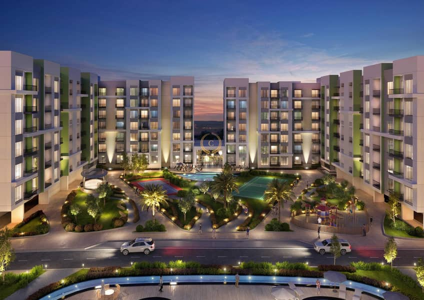 1% per month payment plan  10 % Booking only  Completion in Mar 2022