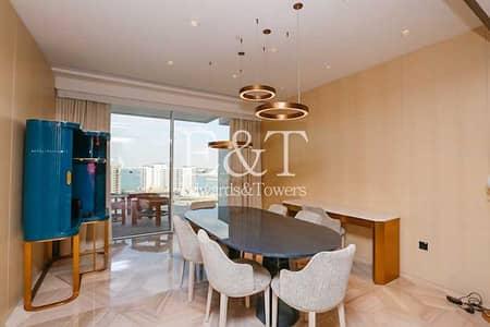 شقة فندقية 1 غرفة نوم للبيع في نخلة جميرا، دبي - Enormous High Floor 1 Bed  Sea Views   PJ