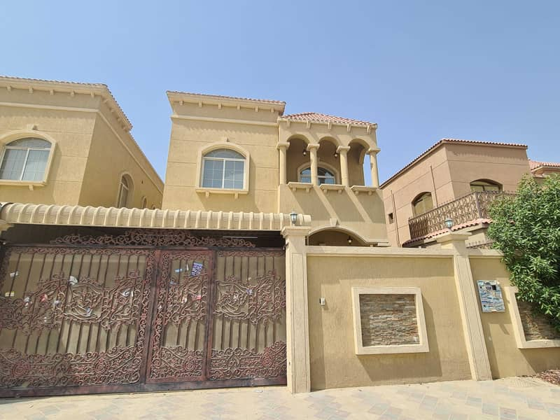 Modern villa, the first inhabitant, with a luxurious design, facing a stone, finishing, and building a very wonderful person, in the Jasmine area, wit