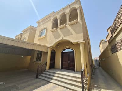 5 Bedroom Villa for Sale in Al Mowaihat, Ajman - Modern villa, the first inhabitant, with a luxurious design, facing a stone, finishing, and building a very wonderful person, in the Jasmine area, wit