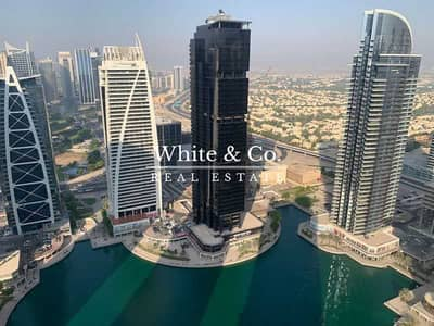 3 Bedroom Flat for Rent in Jumeirah Lake Towers (JLT), Dubai - 3 BEDS + MAIDS   WELL MAINTAINED   HIGH FLOOR