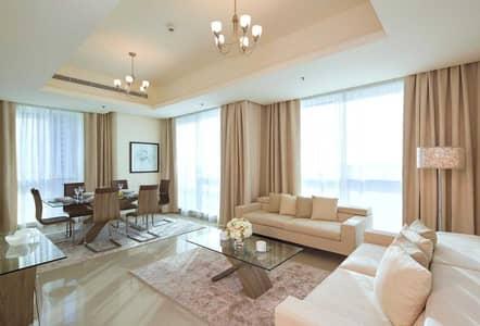 شقة فندقية 2 غرفة نوم للايجار في دبي مارينا، دبي - Furnished Two Bedroom Apartment- All bills included- No Commission