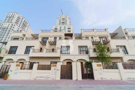 تاون هاوس 4 غرف نوم للبيع في قرية جميرا الدائرية، دبي - Luxurious 4 Bedroom | Private Elevator | VOT