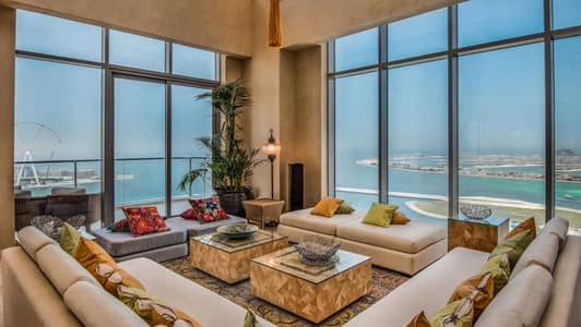 4 Bedroom Penthouse for Sale in Dubai Marina, Dubai - Stunning Triplex with Private Pool
