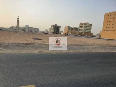 Plot for Sale in Al Aaliah, Ajman - residential commercial  land for sale in Al aliah street + sikka excellent location G+3