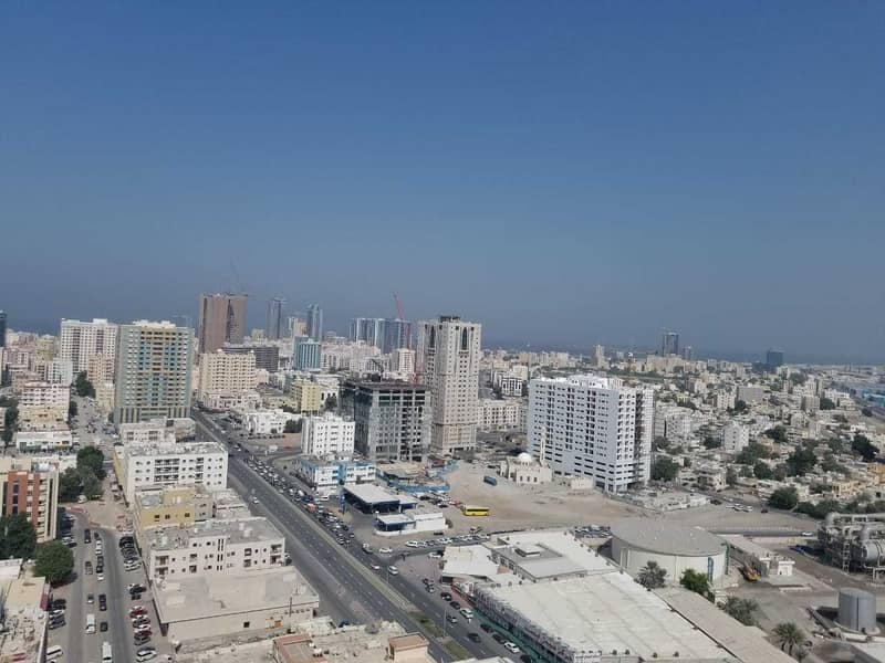 Sea View With Parking 3 Bedroom hall for rent in Falcon tower