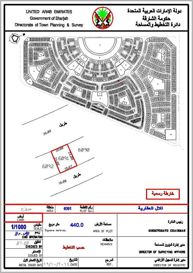 For sale directly from the owner Residential land