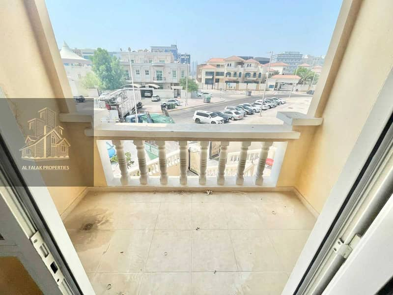 2 Awesome luxury huge 1 bed apt with amazing balcony in al Nahyan