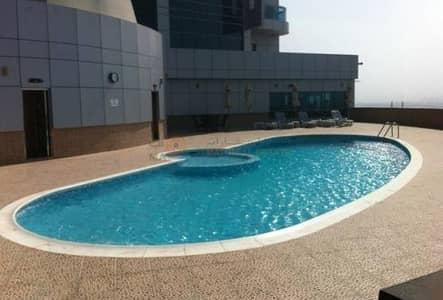 2 Bedroom Flat for Sale in Corniche Ajman, Ajman - 2 Bedroom   Maid Room   1 Balconies For Sale city View In Corniche Towers Ajman