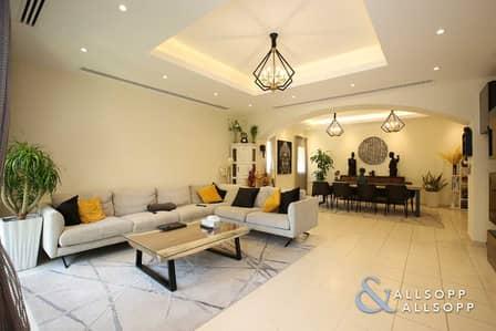 فیلا 4 غرف نوم للبيع في السهول، دبي - 4 Bedrooms | Backing Pool and Park | VOT