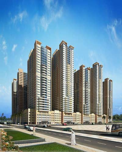 HUGE 1 BHK FULLY FURNISHED WITH PARKING AJMAN ONE TOWER