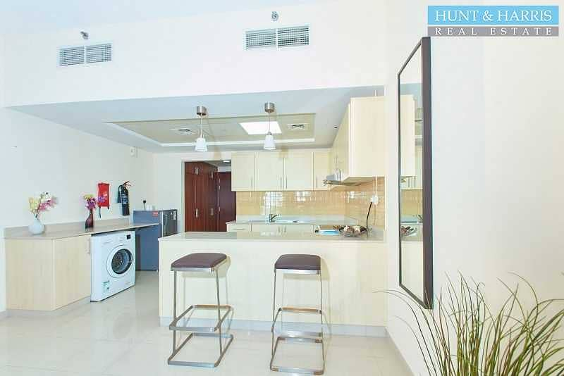 2 Spacious Studio Apartment - Sea View - Fully Furnished