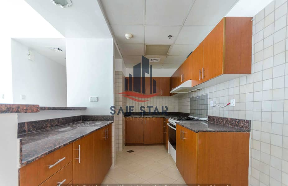 Large 1BR | Open Kitchen | Swimming Pool View | Ready to Move