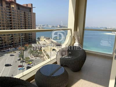 1 Bedroom Apartment for Rent in Palm Jumeirah, Dubai - Fully Furnished | Beach Access | Call Now