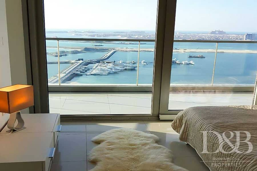 13 Stunning views| Fully furnished| High floor