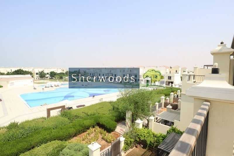 3BR + Maid's |Fully Furnished | Swimming Pool View