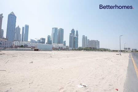 Plot for Sale in Al Badaa, Dubai - On Two Roads   Great Location   Skyscrapers views