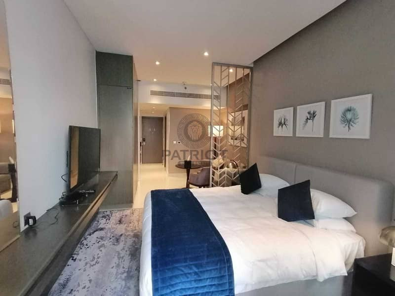 Spacious Brand New ! fully Furnished Studio with balcony Ready to Move-In
