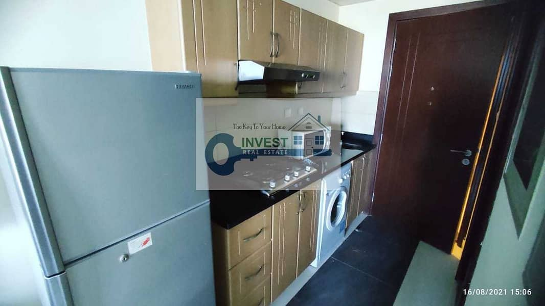 2 FULLY FURNISHED STUDIO : L SHAPE BALCONY : READY TO MOVEIN
