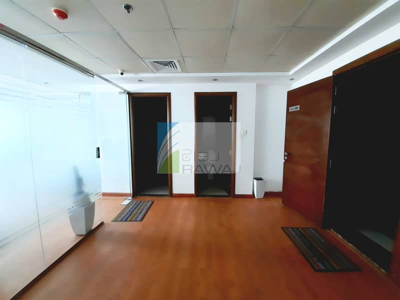 2 FULLY FURNISHED OFFICE WITH PARTITION FOR RENT AT ONTARIO TOWER