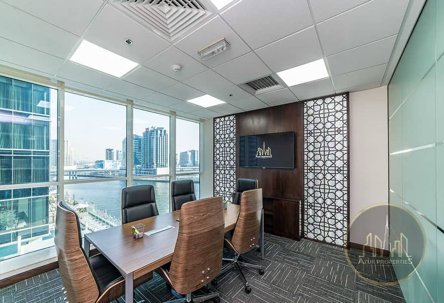 11 PRICED TO SELL |FITTED OFFICE | DUBAI CANAL VIEW