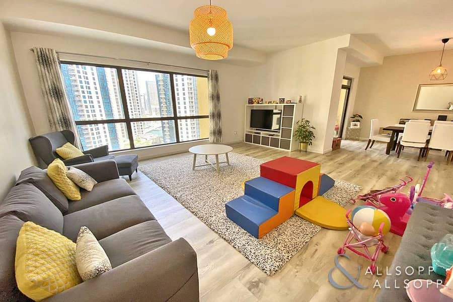 3 Bedrooms | Balcony | Partial Marina View