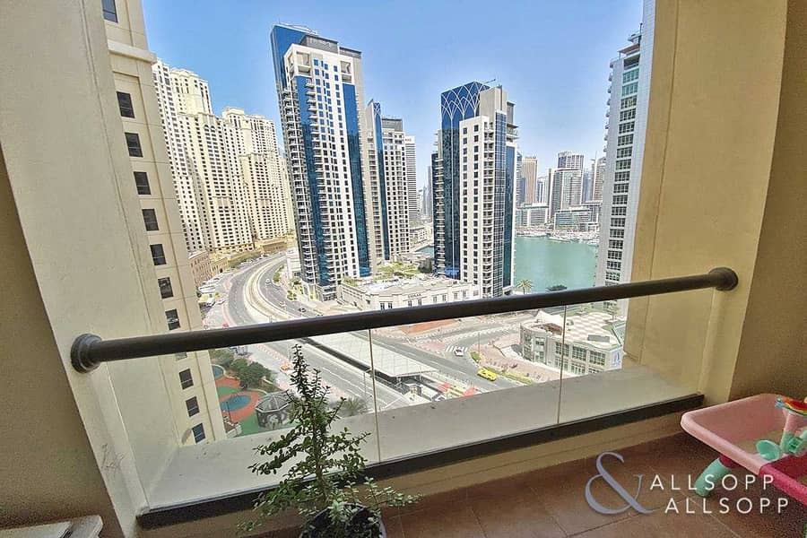 2 3 Bedrooms | Balcony | Partial Marina View
