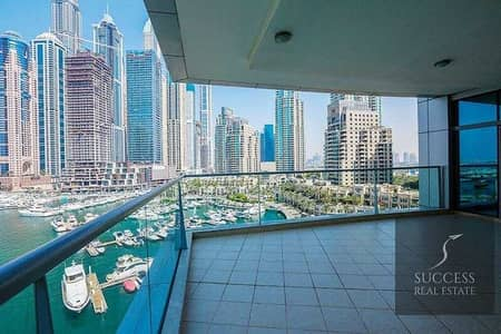 3 Bedroom Apartment for Sale in Dubai Marina, Dubai - Best  02 type Full  Marina  |  3  BR + Maids + Study