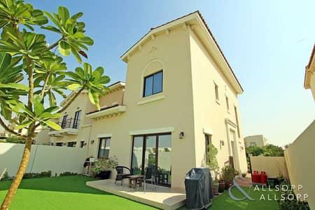 فیلا 3 غرف نوم للايجار في ريم، دبي - Single Row 3E   3 Beds + Maid   End Unit