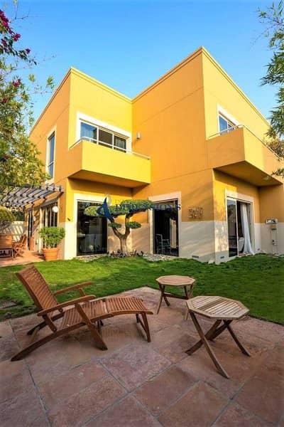 4 Bedroom Villa for Rent in Al Raha Gardens, Abu Dhabi - Stunning 4BR Villa with Elegant Garden I Unfurnished I Negotiable