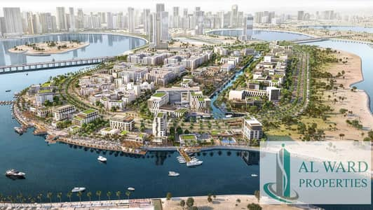3 Bedroom Apartment for Sale in Al Khan, Sharjah - Full Sea view | Luxury 3bed unit with Maids rooms | Overlooking  to Community Park too | With Monthly Payment Plan Plan