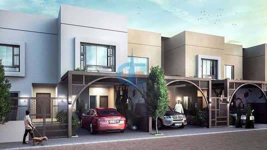 5 Bedroom Townhouse for Sale in Sharjah Sustainable City, Sharjah - Corner Smart townhouse | 5 years service fee free | Kitchen appliances free | Save 50% electricity bill