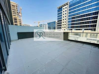 شقة 1 غرفة نوم للايجار في شاطئ الراحة، أبوظبي - Hurry Up !! Brand New   1 BR Apart  Huge Terrace  Closed Kitchen !!