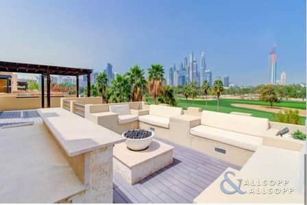 7 Bedroom Villa for Sale in The Lakes, Dubai - Luxury Golf Villa | L2 Hattan | 11k Plot
