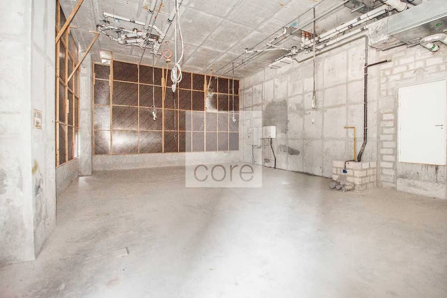 Shell and Core | Commercial Space | DED License