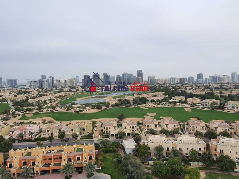 GOLF AND POOL VIEW | LUXURY FURNISHED ONE BEDROOM | READY TO MOVE