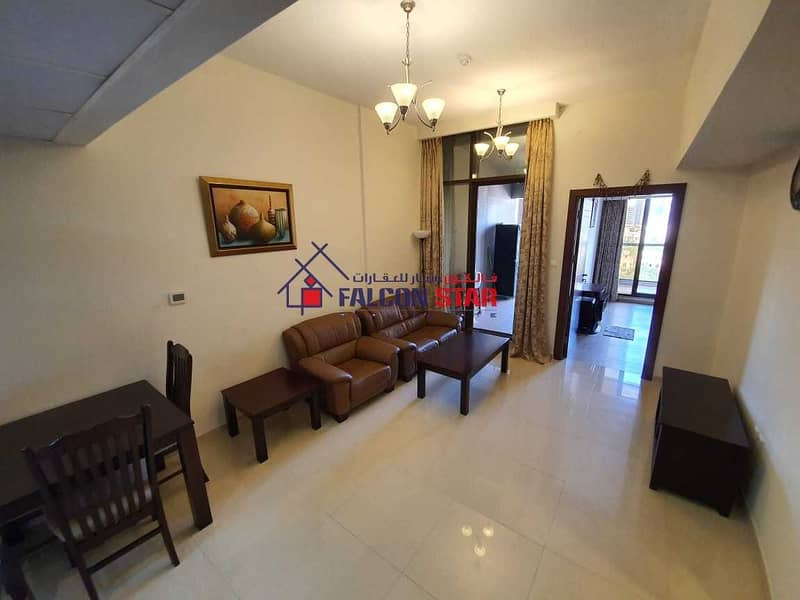 2 GOLF AND POOL VIEW | LUXURY FURNISHED ONE BEDROOM | READY TO MOVE