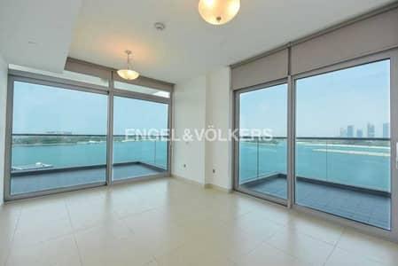 شقة 2 غرفة نوم للبيع في نخلة جميرا، دبي - Full Panoramic Sea View | Private Terrace