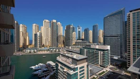 1 Bedroom Flat for Rent in Dubai Marina, Dubai - Spacious Layout | Fully Furnished | Marina View
