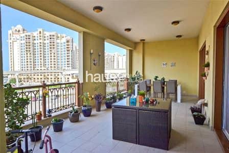 شقة 3 غرف نوم للايجار في نخلة جميرا، دبي - Unfurnished | Mall View | Rare | Great Condition |